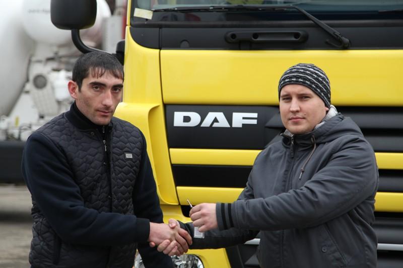 Procurement truck  DAF CF 85