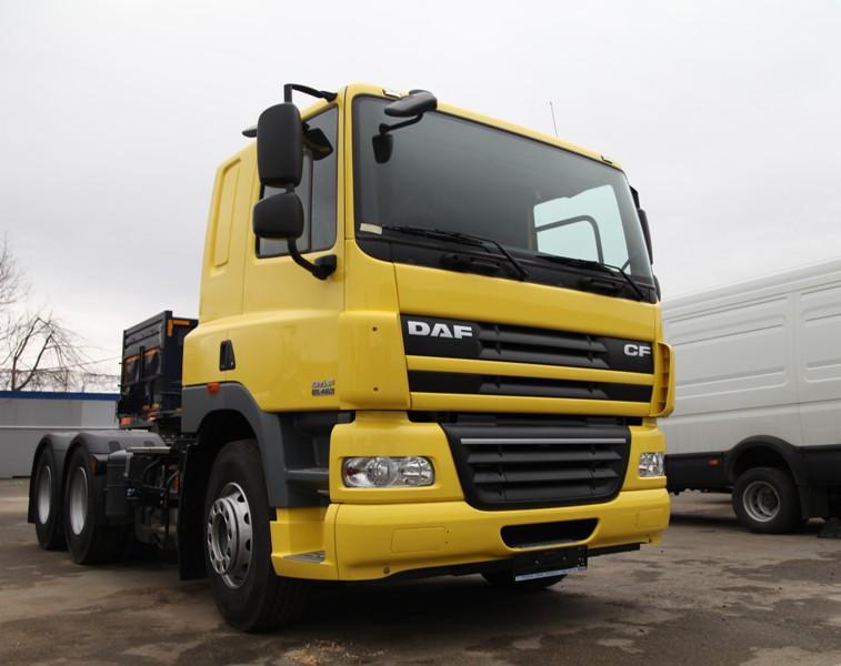 Model DAF CF 85 color yellow