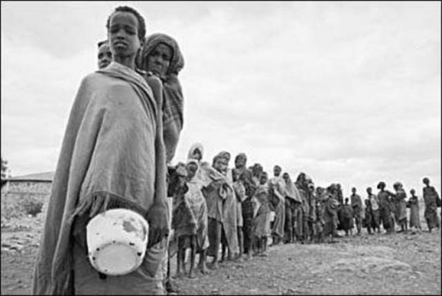 Голод, нищета