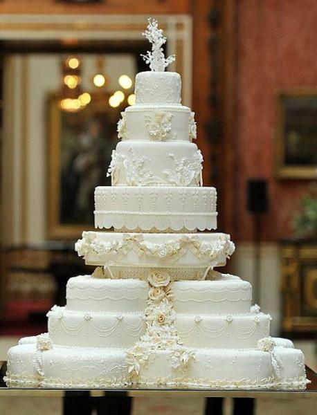 Секреты и традиции королевских свадебных тортов