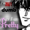 Not as dumb as I am pretty - icon