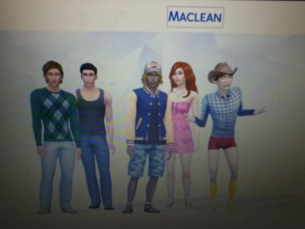 Sims Family Maclean