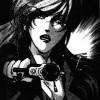Alicia with gun