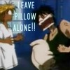 Leave pillow alone - icon
