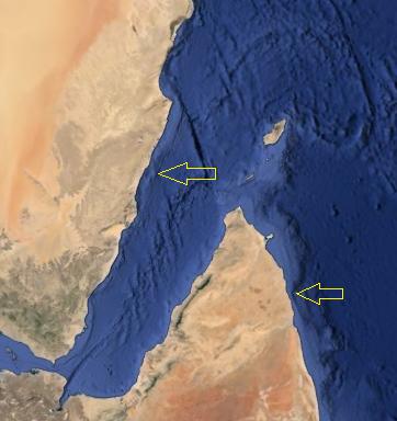 Африка-Аравия - маркер сдвига