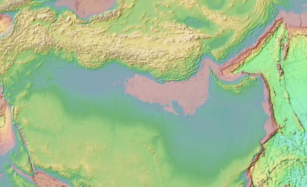 Аравия, Ближний восток, рельеф