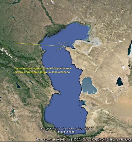 Каспийский сдвиг