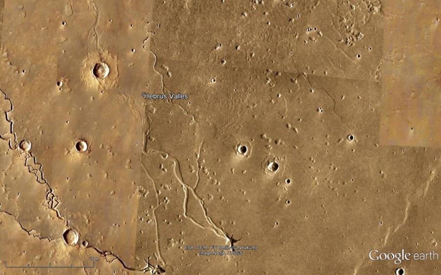 Кратеры Марса Глаза
