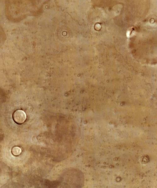 Кратеры Марса Глаза 3
