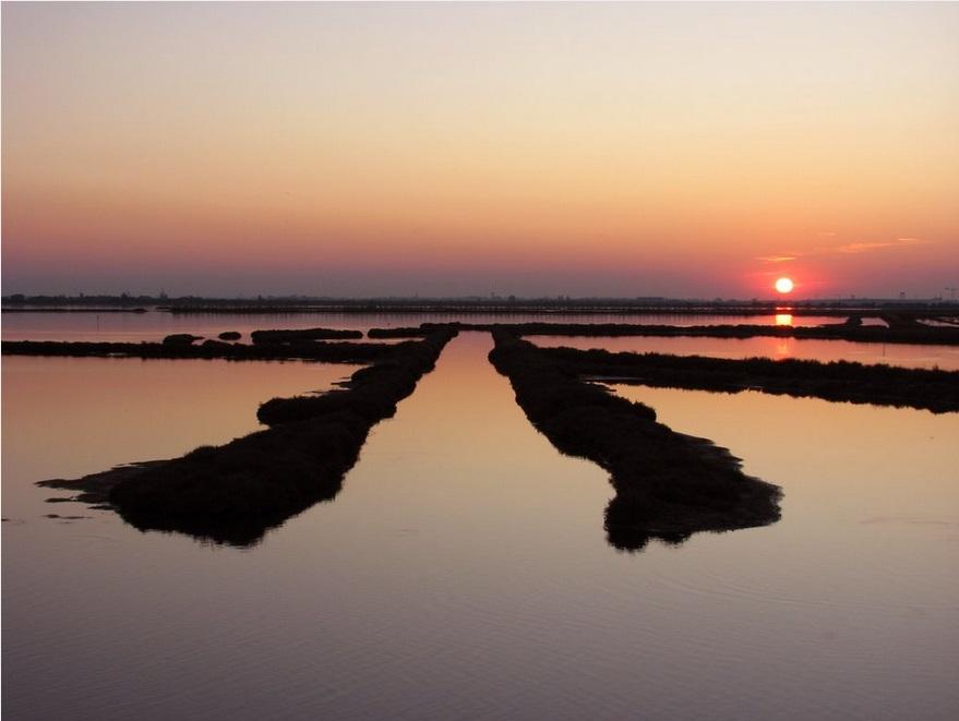 Италия. Окрестности Венеции и острова Альбарелла.