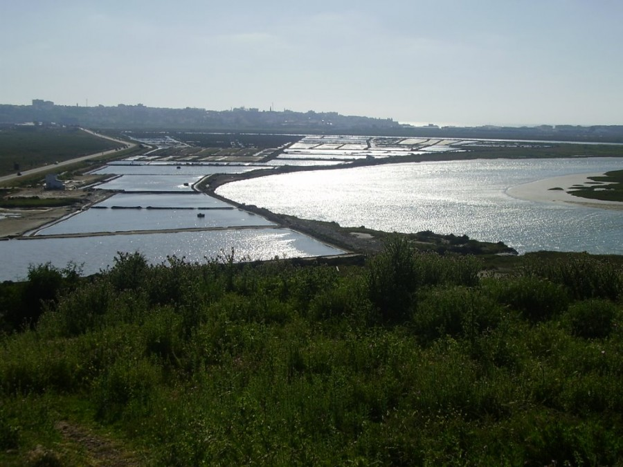 Марокко. Ларач. Солёные болота Marais Salants