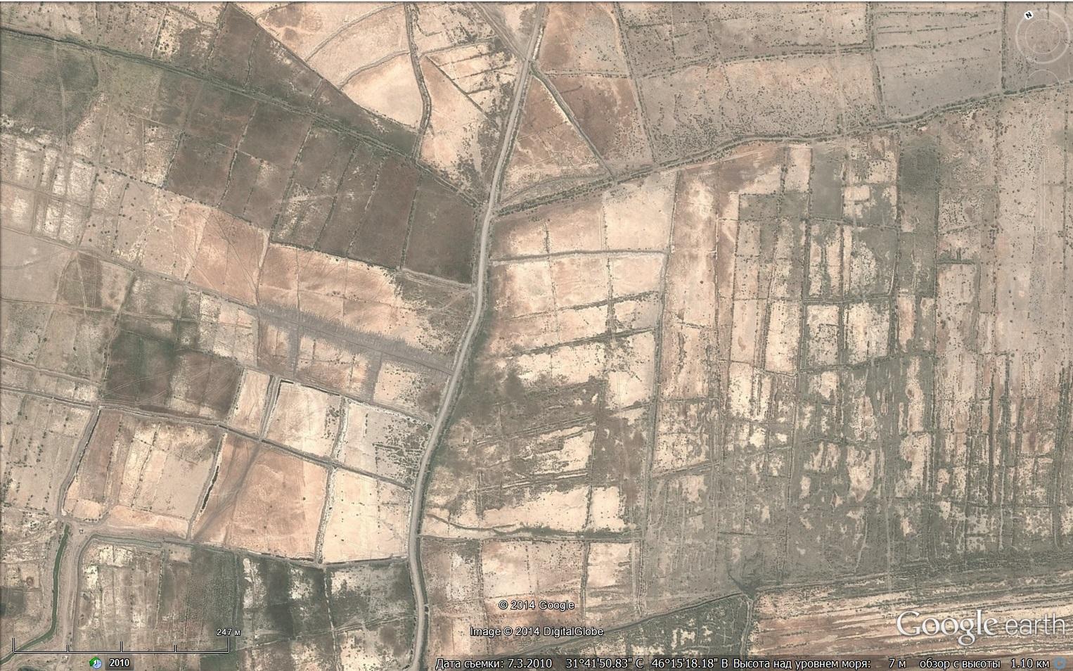 Болота между Тигром и Евфратом древние
