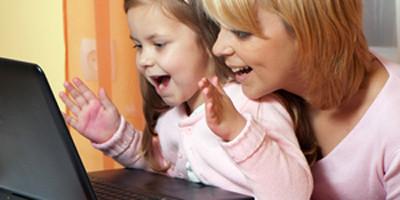 обучение ребенка за компом
