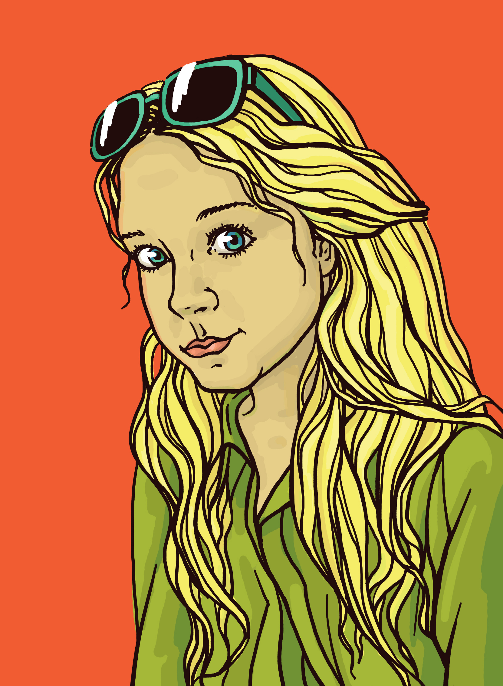 Lena_color_portret
