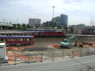 Looking towards Docklands