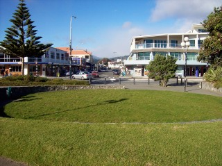 Paraparaumu Beach, the town
