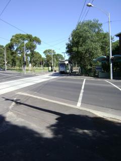 Z3 tram at Park Street