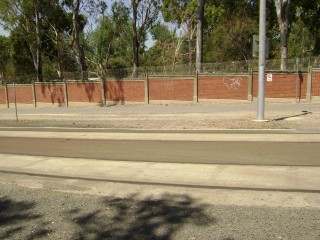 Another angle of the old southbound SNAHC tram stop
