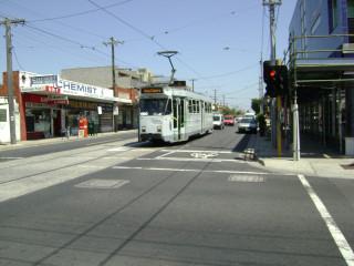 Z3 tram on Melville Road