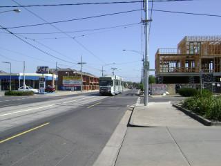 B2 tram on Grantham Street