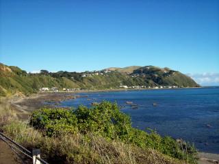 Pukerua Bay from SH1