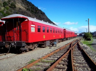 Classic red carriages!