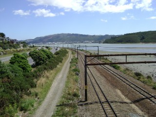 Porirua Harbour from Paremata in the afternoon
