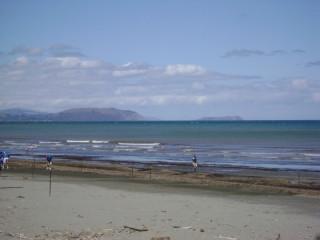Mana Island from Raumati Beach
