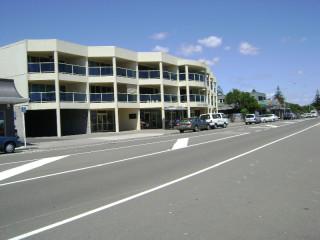 Development along Marine Parade, Paraparaumu Beach