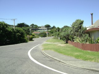 Some other street in Raumati South