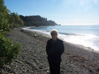 Me by Tasman Bay