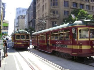 City Circle trams