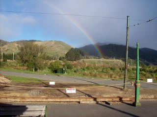 Rainbow at Queen Elizabeth Park