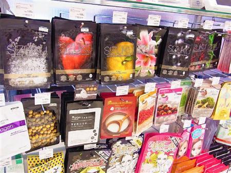 Японская и корейская косметика в магазинах новосибирска
