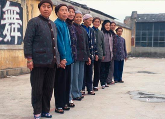 Китаянки гордились своими лотосовыми ножками