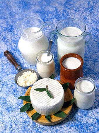 молочные
