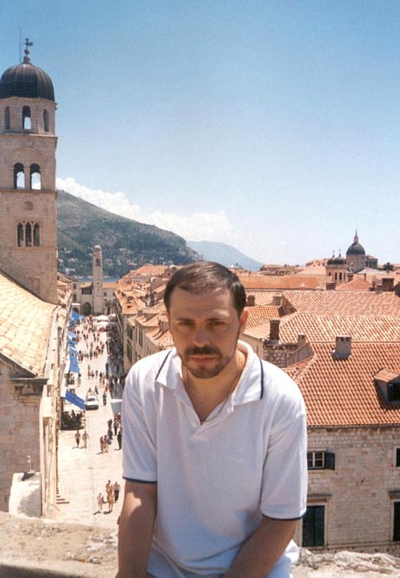 Alik na krepostnoi stene Dubrovnika