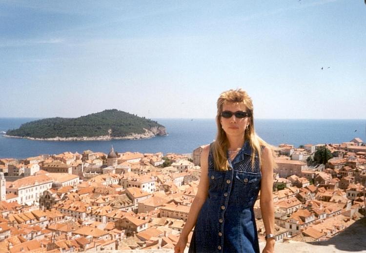 Lena na krishah Dubrovnika