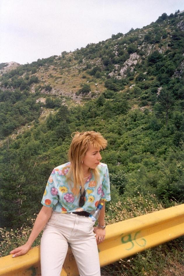 Lena na gore v Chernogorii