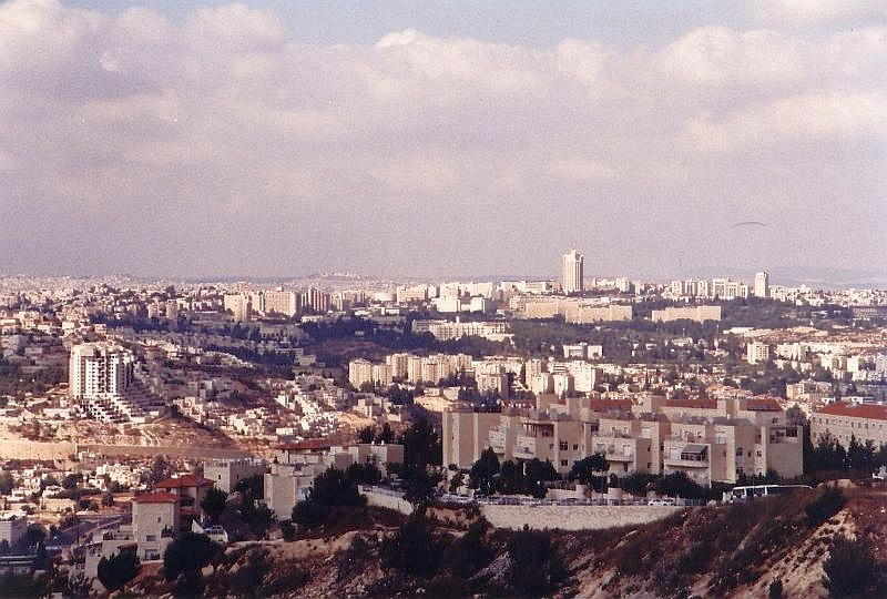 Jerusalem-view-from-Gilo