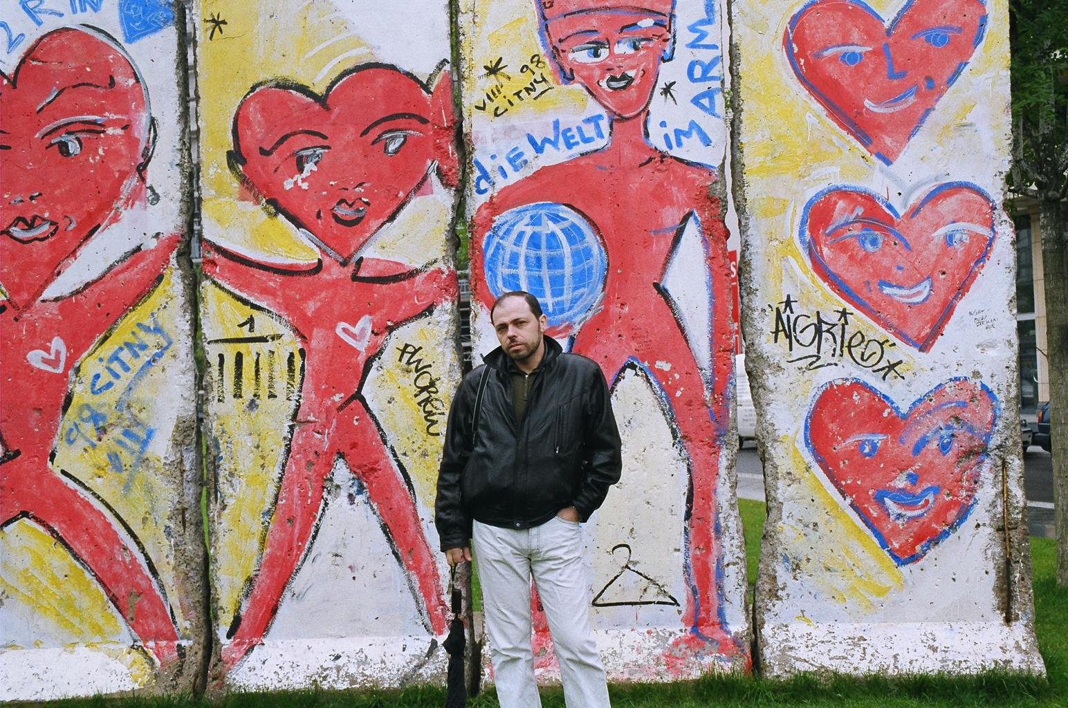 Alik u berlinskoi steni