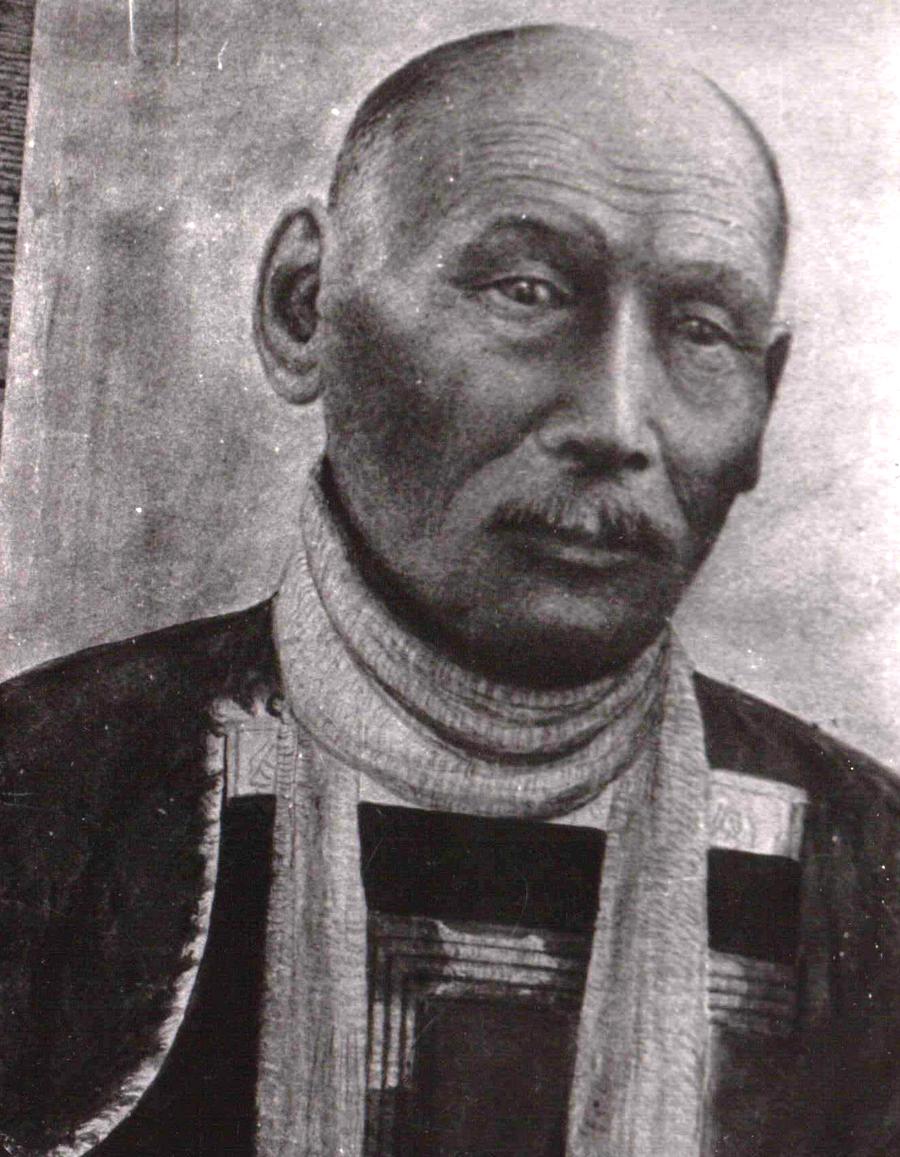 Зыдыга Санданов, отец одного из первых учителей Задагаина Цыцык, уроженец Кункурской степи.jpg