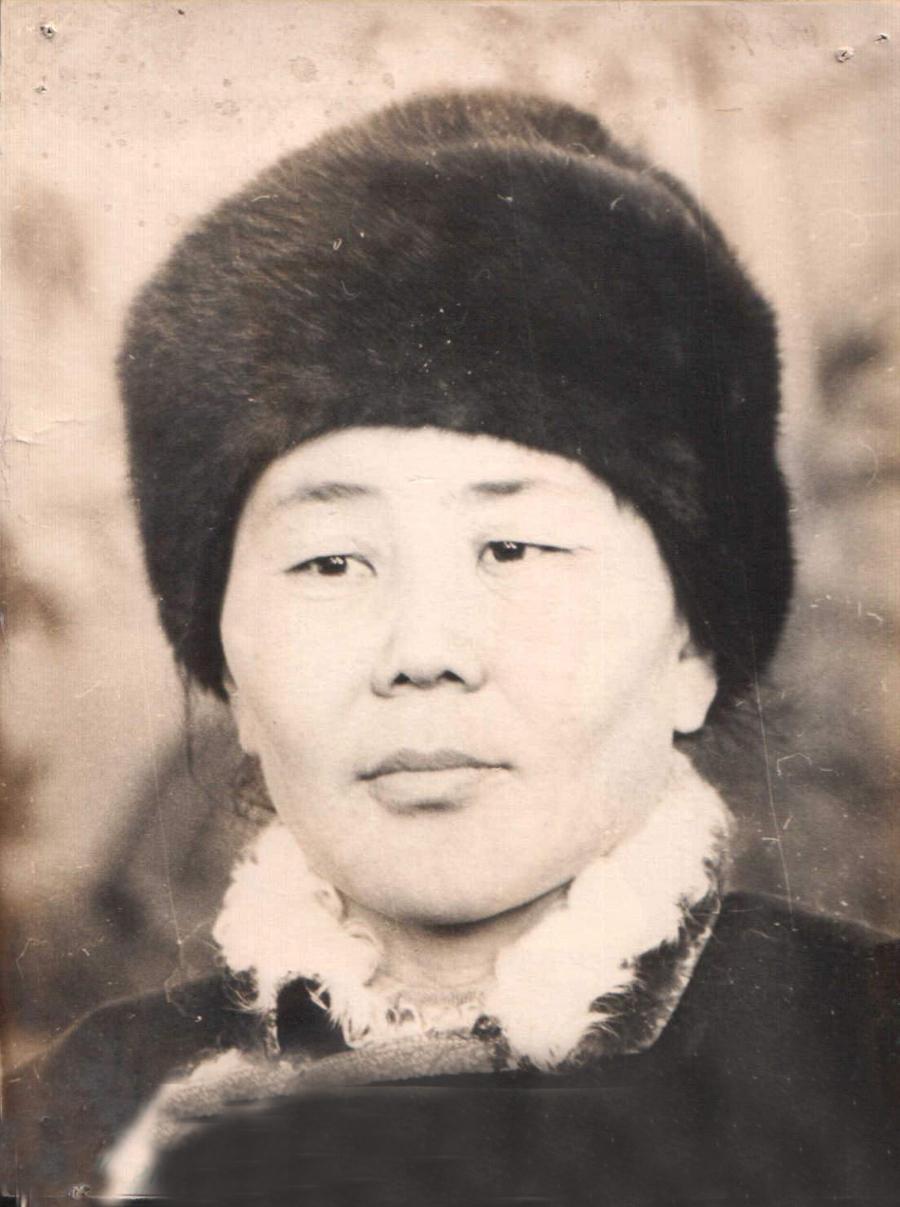Анчигма Галданова, передовая доярка. Будалан.jpg