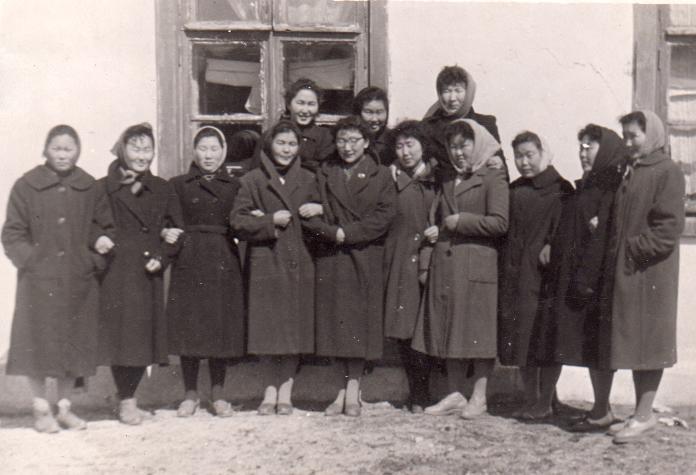 2. п. Агинское. После первомайской демонстрации. 1962 год.jpg