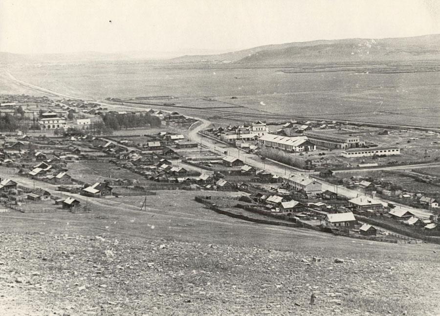 19. Село Амитхаша. 1966 г. С западной горы.jpg