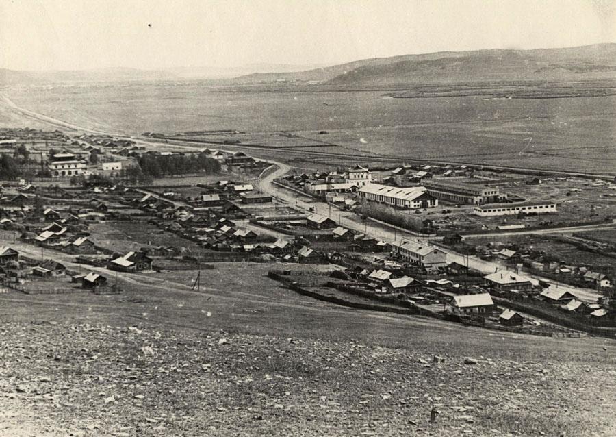 39. Село Амитхаша. 1966 г. С западной горы.jpg