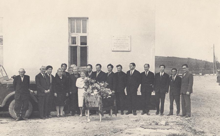 12. Открытие нового корпуса. 15 августа 1971 года, 50 лет Агинской окружной больнице.jpg