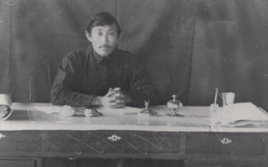 1. Дарма-Базар Ринчино, лекпом аймачной больницы. Агинское, 18 марта 1925 года.jpg