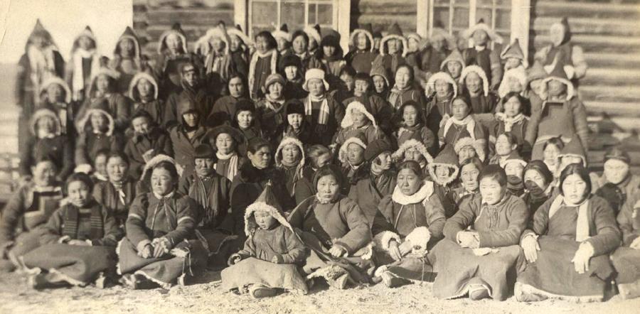 1. Первый съезд колхозниц Агинского аймака. 1931 год.jpg