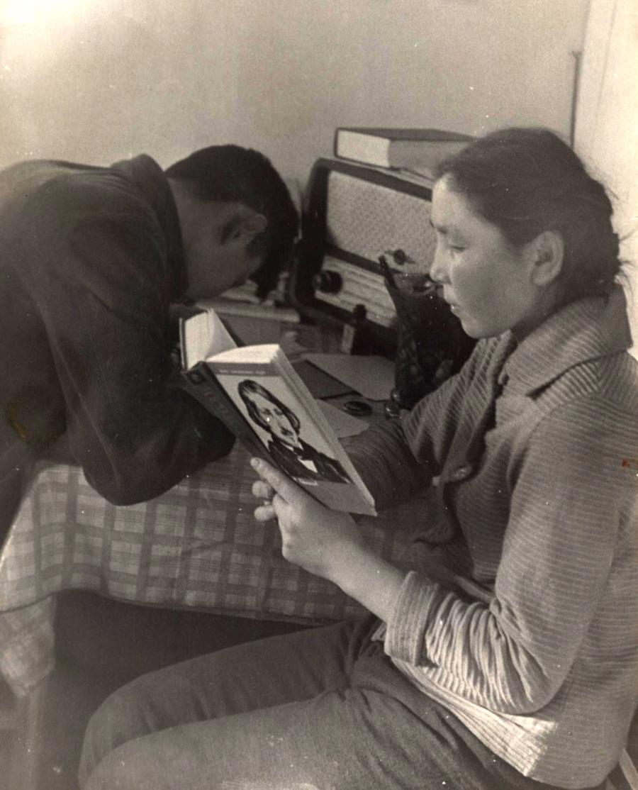 20. Гунэй, 1962 год. Жизнь колхозников, показательный снимок.jpg